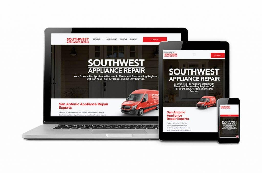 Southwest Appliance Repair Client Website